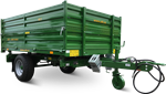 Semitrailers three way tipper